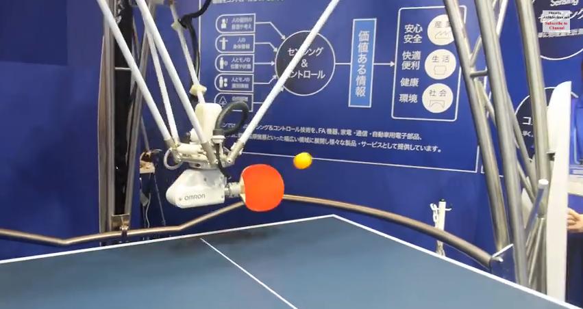 Omron-Tischtennisroboter