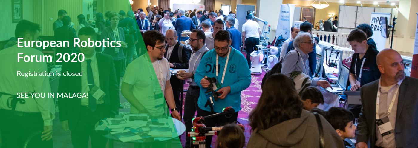 Auf dem Weg zum European Robotics Forum 2020