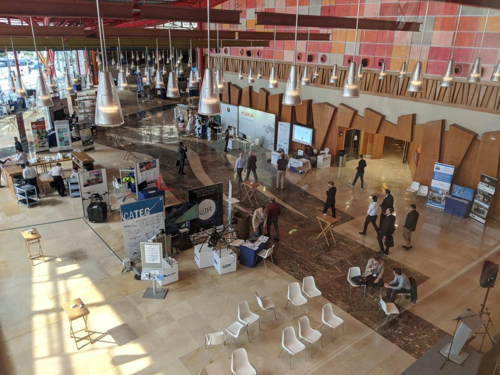 Ausgedünnte Ausstellungsfläche beim ERF