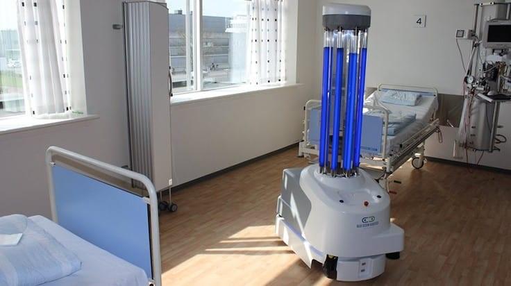 Roboter zur Unterstützung gegen das Coronavirus