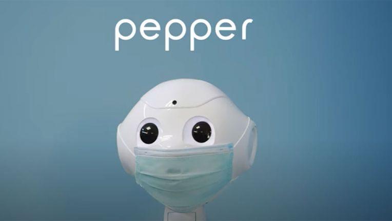 Pepper erinnert an Masken