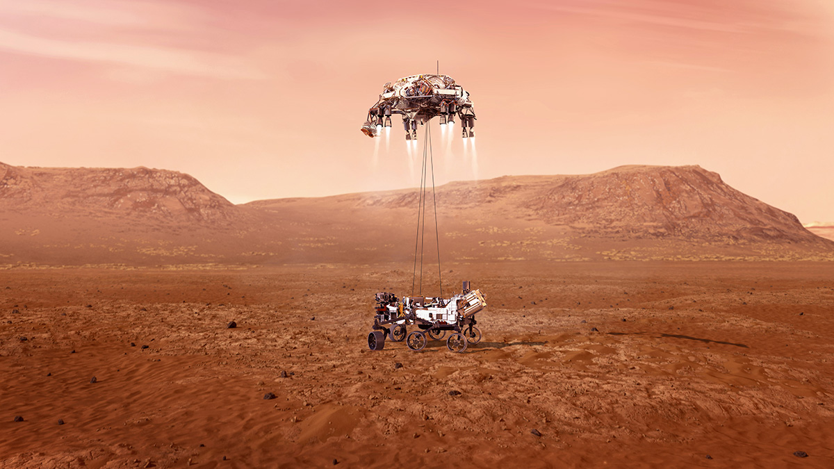 Heute Live: Landung des Mars-Rovers Perseverance