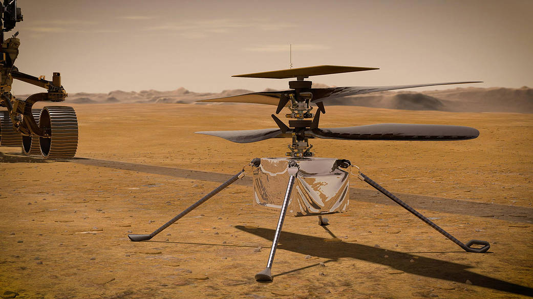 Mars-Helikopter Ingenuity startet nächste Woche (Update)